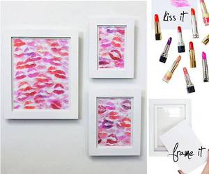 kiss, diy, and lips image