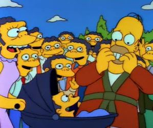 homer simpson, Homero, and moe image