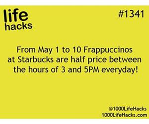 may, starbucks, and you're welcome image
