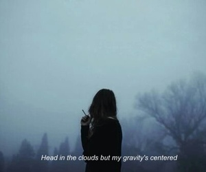 alternative, clouds, and girl image