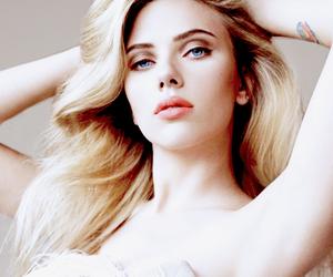 Scarlett Johansson, actress, and blonde image