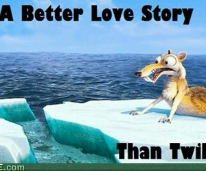 twilight, love, and funny image
