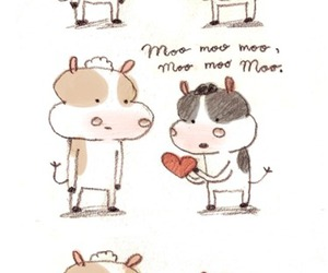 are, moo, and roses image