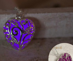 etsy, glow, and heart image