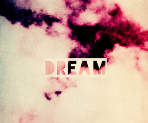 clouds, Dream, and pink image