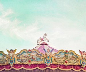 carousel, colors, and colours image