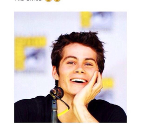 smile, dylan o'brien, and dylan image
