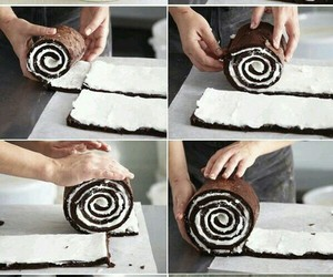 cake, diy, and chocolate image