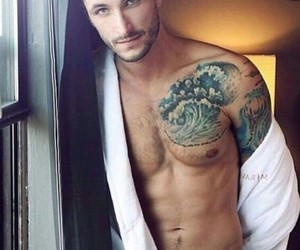 inked, Tattoos, and men image