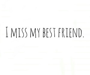 alone, best friend, and miss you image