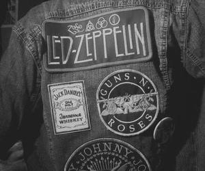Guns N Roses, led zeppelin, and jacket image