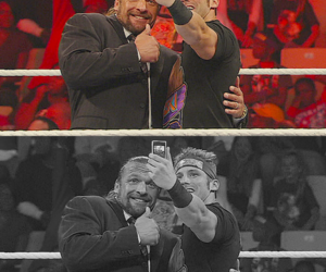 wwe, triple h, and zack ryder image