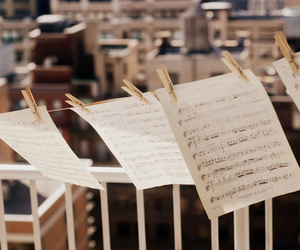 music, photography, and notes image
