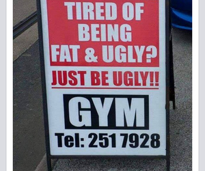 funny and gym image