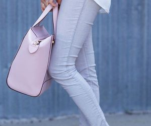 pink and jeans image
