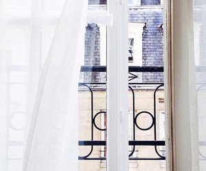 window, paris, and photography image
