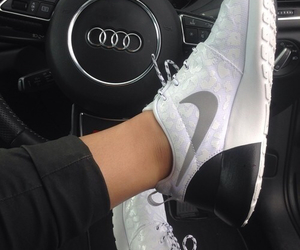 nike, shoes, and audi image