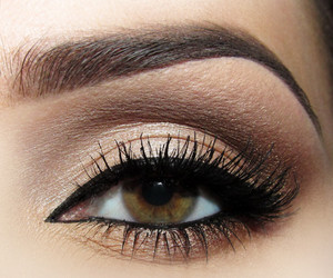 eye, makeup, and girl image