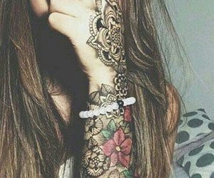 hipster, nice, and tattoo image