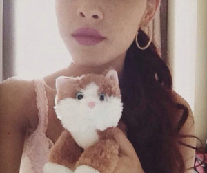 ariana grande, cat, and ariana image