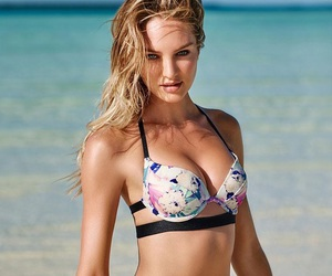 bikini, model, and candice swanepoel image