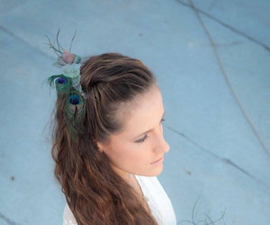 hair accessories, bridesmaid gift, and wedding hair comb image