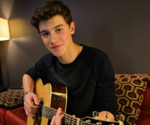 shawn mendes, shawn, and guitar image