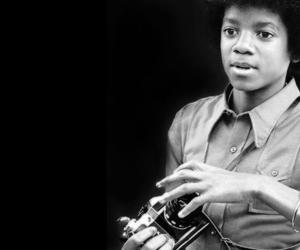 michael jackson, camera, and young image
