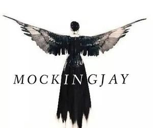 mockingjay, hunger games, and katniss everdeen image