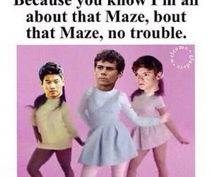 maze runner, Minho, and newt image