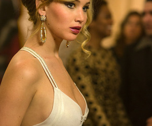 Jennifer Lawrence and american hustle image