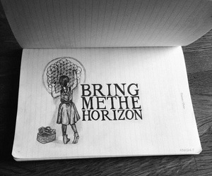 bring me the horizon, drawing, and bmth image