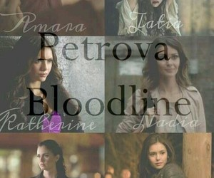 tvd, petrova, and elena gilbert image