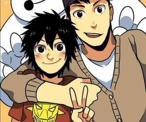 cute, big hero 6, and hiro hamada image