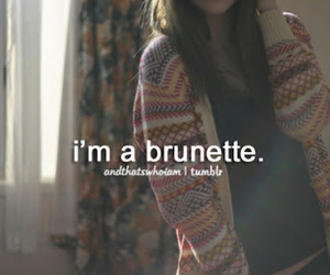 brunette, hair, and me image