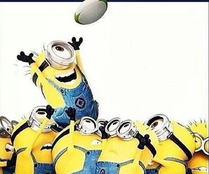 game, minions, and rugby image