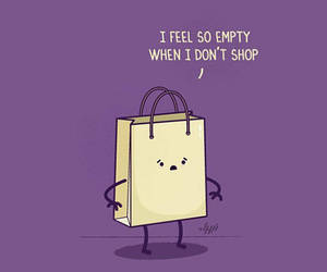 shopping, bag, and empty image