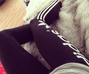 adidas, leggings, and motivation image