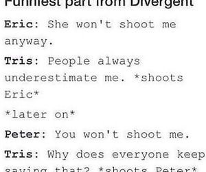 eric, peter, and divergent image