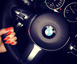bmw, M, and nails image