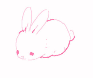 cute, bunny, and kawaii image