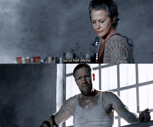 go to hell, the walking dead, and carol peletier image