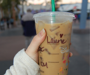 minnie mouse, starbucks, and tasty image