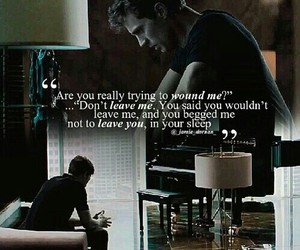 fifty shades of grey, christian grey, and quote image