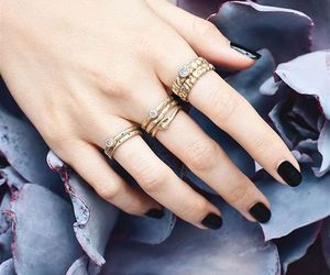 beauty, rings, and style image