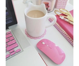 pink and coffee image