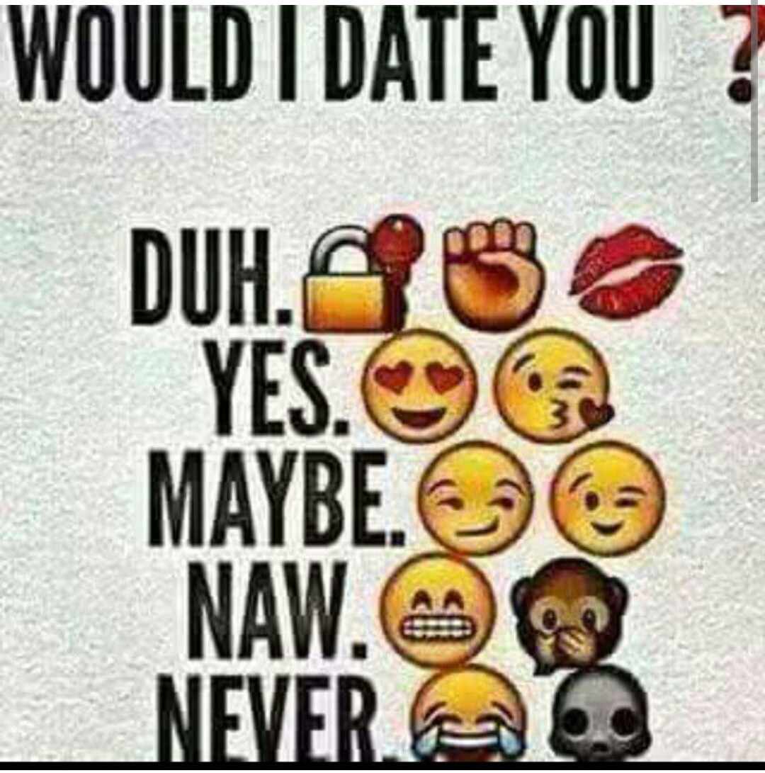 would you like to go out on a date