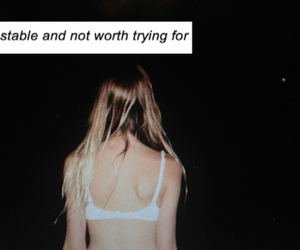 alone, quote, and tumblr image