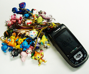cell phone and japan image