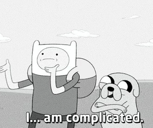 adventure time, complicated, and JAKe image